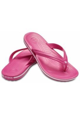 CROCS Crocband Flip barva Paradise Pink/White