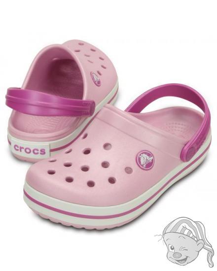 CROCS Crocband Kids - barva Ballerina Pink/Wild Orchid