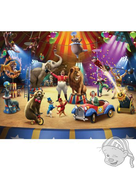 Walltastic 3D Tapeta Cirkus (2438 mm x 3048 mm)