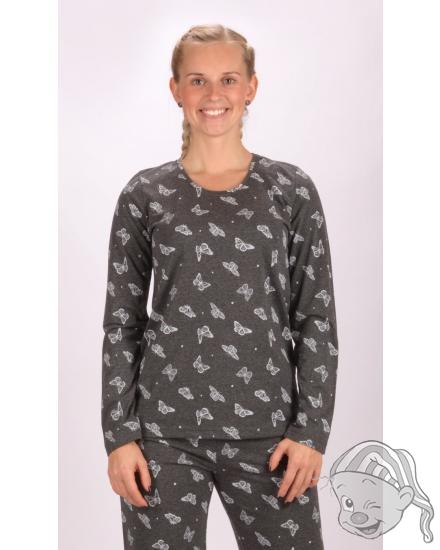 Dámské pyžamo dlouhé Butterflies