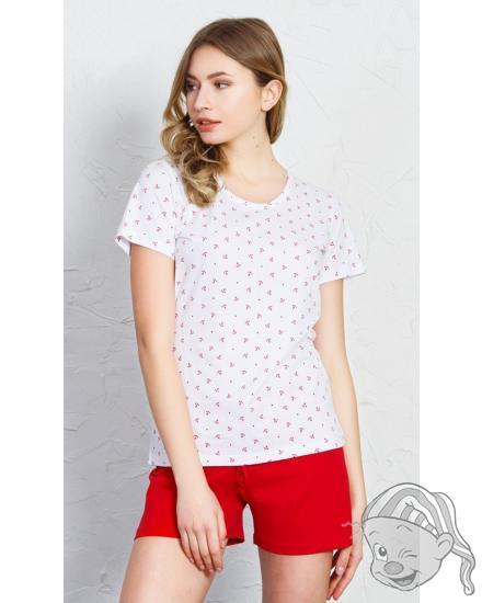 Dámské pyžamo šortky Malé kotvy