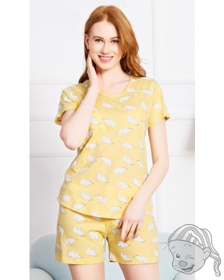 Dámské pyžamo šortky Lední medvědi