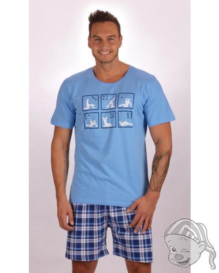 Pánské pyžamo šortky Kamasutra