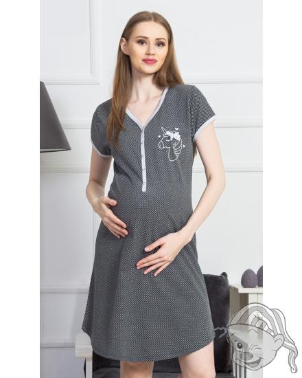 Dámská noční košile mateřská Jednorožec