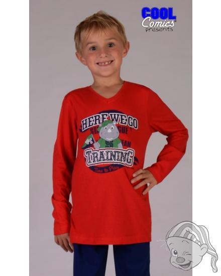 Dětské pyžamo dlouhé Nosorožec