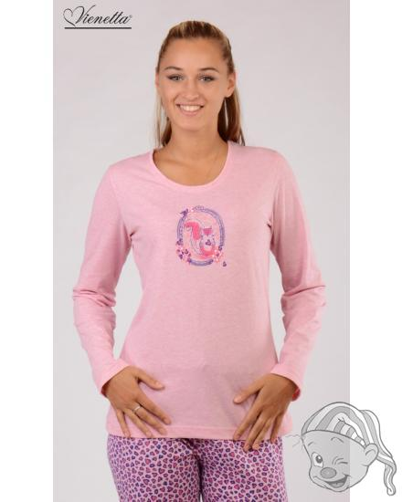 Dámské pyžamo dlouhé Malá veverka