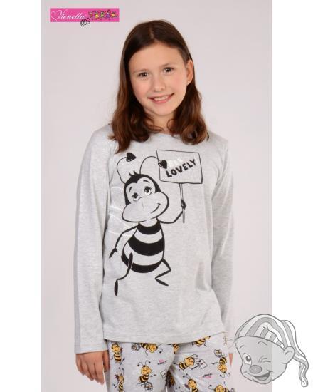 Dětské pyžamo dlouhé Včela Lovely