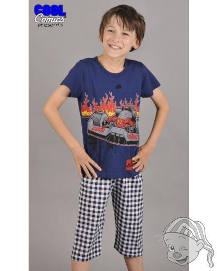 Dětské pyžamo kapri Formule 1