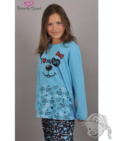 Dětské pyžamo dlouhé Dog