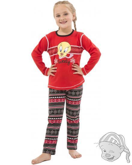 Dětské pyžamo dlouhé Looney Tunes TWEETY