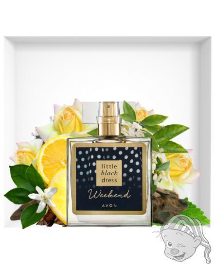 Avon Little Black Dress Weekend parfémovaná voda dámská 50 ml