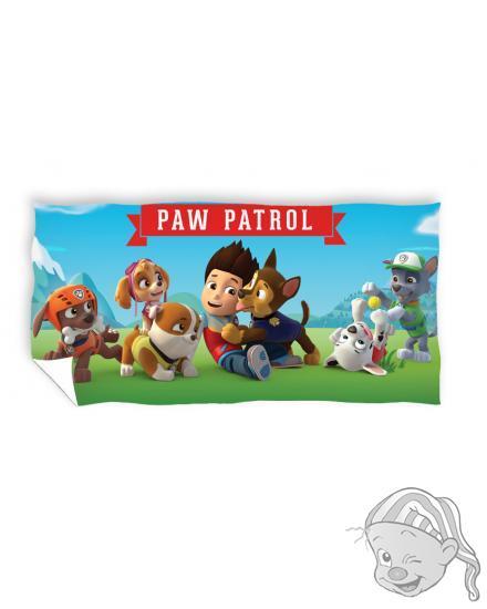 Carbotex osuška Paw patrol 70x140 cm