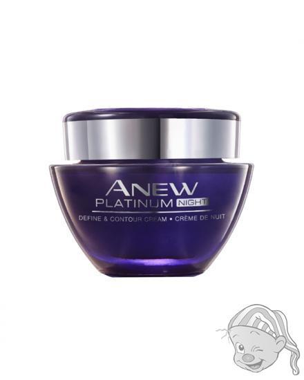 Avon Anew Platinum noční krém proti vráskám 50 ml