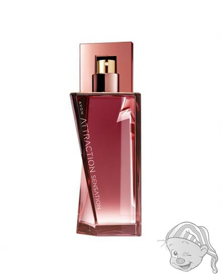Avon Attraction Sensation parfémovaná voda dámská 50 ml