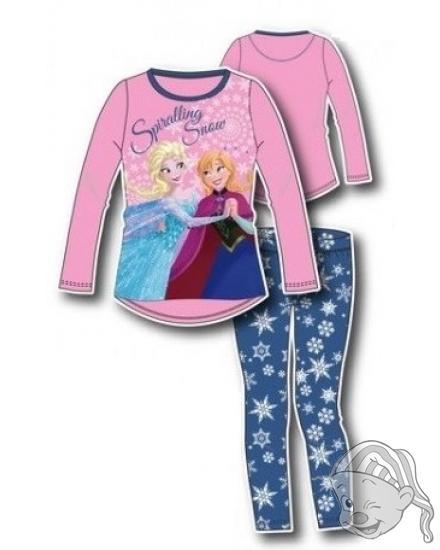 af691e8f7940 Dětské pyžamo dlouhé FROZEN 8 - 128 světle růžová modrá