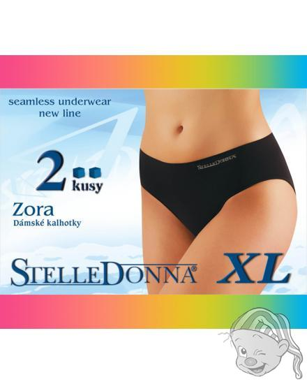 Stelle Donna ZORA XL - dámské bezešvé kalhotky 2 kusy