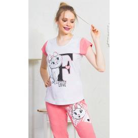 Dámské pyžamo kapri Fashion