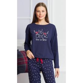 Dámské pyžamo dlouhé Adéla