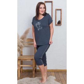 Dámské pyžamo kapri Lady Cat