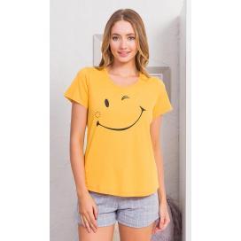 Dámské pyžamo šortky Big smile