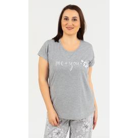 Dámské pyžamo s krátkým rukávem Rebeka