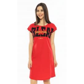 Dámská noční košile s krátkým rukávem Cheerleading