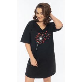 Dámská noční košile s krátkým rukávem Betty