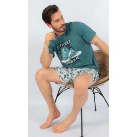 Pánské pyžamo šortky Tenisky