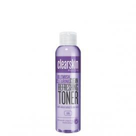Avon clearskin čistící pleťová voda 100ml-fialová