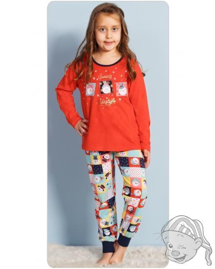 Dětské pyžamo dlouhé Vánoce