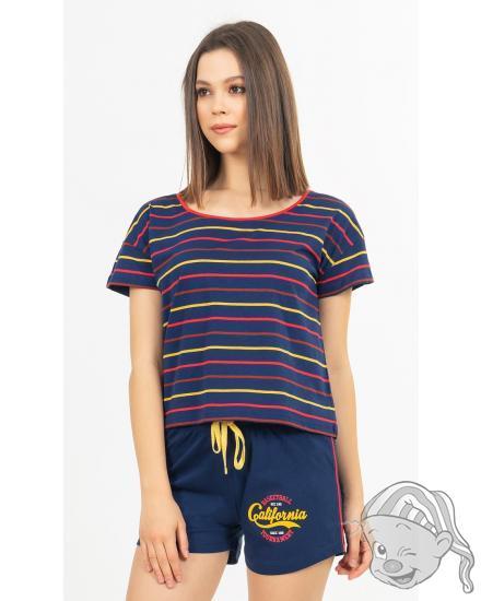 Dámské pyžamo šortky California