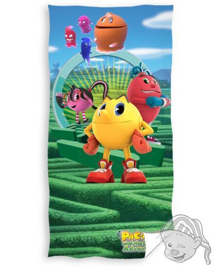 Carbotex osuška Pacman 70x140 cm